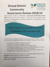 Stroud District Community Governance Review 2018/19
